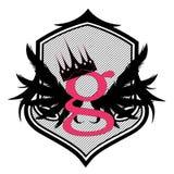 List G Sztuka Druk - Ilustracja - Logo - Obrazy Stock
