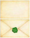 list irlandczykom powodzenia obraz stock