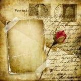 list miłość Fotografia Royalty Free