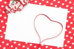 List miłosny, deklaracja miłość Fotografia Royalty Free