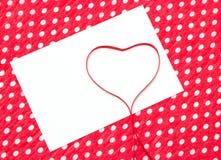 List miłosny, deklaracja miłość Obrazy Stock