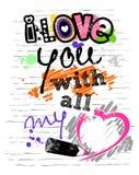 List miłosny Obrazy Royalty Free