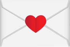 List Miłosny Zdjęcie Royalty Free