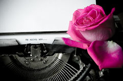 List miłosny Obraz Stock