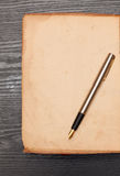 List on old paper Royalty Free Stock Photos