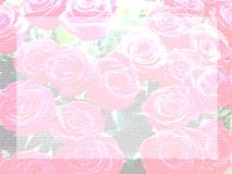 list pale papier rose ilustracji