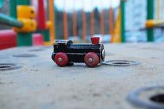 list pewter pociąg zabawki Obraz Royalty Free