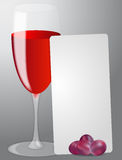 List red wine Stock Images