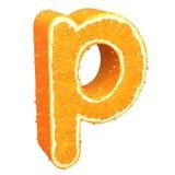 List robić od pomarańcze Fotografia Royalty Free