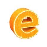 List robić od pomarańcze Zdjęcie Royalty Free