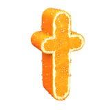 List robić od pomarańcze Fotografia Stock