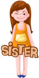 List siostra Zdjęcia Royalty Free
