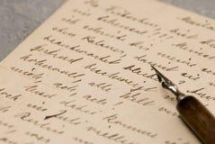 list starego Zdjęcia Royalty Free