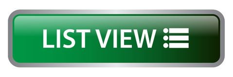 List view web button royalty free illustration