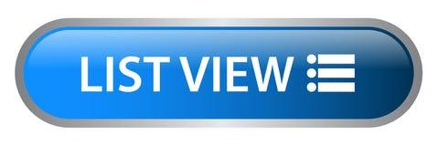 List view web button stock illustration