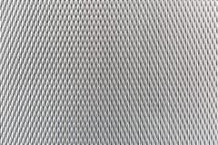Lista brillante industrial de la plata del metal con formas fotografía de archivo libre de regalías