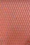 Lista brillante industriale del metallo con le forme del rombo Fotografia Stock
