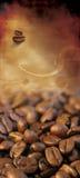 Lista clásica del café Foto de archivo