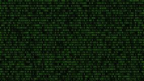 Lista de códigos binária vídeos de arquivo