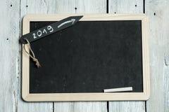 Lista de definições do ano novo para 2019 fotografia de stock royalty free