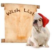 Lista de objectivos pretendidos do animal de estimação Imagens de Stock Royalty Free