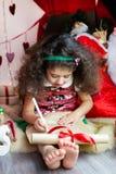 Lista de objetivos del niño Imágenes de archivo libres de regalías