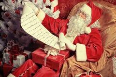 Lista de presentes Imagen de archivo libre de regalías