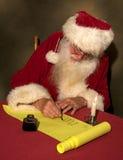 Lista de Santa Fotografia de Stock Royalty Free