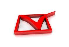 Lista de verificação ilustração do vetor