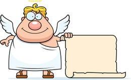 Lista del ángel ilustración del vector