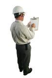 Lista di controllo dell'ispettore di sicurezza Immagini Stock Libere da Diritti