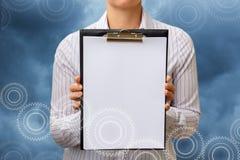 Lista kontrolna dla drużynowej pracy zdjęcia stock