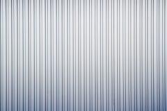 Lista oscura de aluminio con la cerca de la hoja de metal Imágenes de archivo libres de regalías