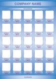 lista produkty Zdjęcia Stock