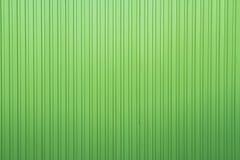 Lista verde oscuro de aluminio con la hoja de metal Imagen de archivo
