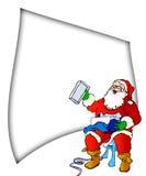Liste de Santa Images libres de droits