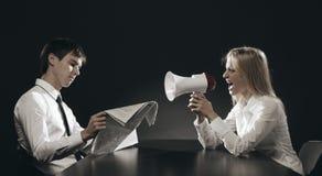 Listen!!! Stock Photo