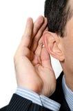 Listen Stock Photo