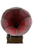 Listen. An old Phonograph (gramophone) used for reproducing sound in the late 19th century royalty free stock images