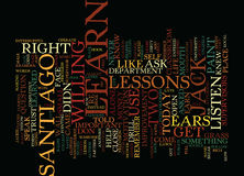 Listen Learn And Earn Text Background  Word Cloud Concept Royalty Free Stock Photo