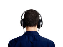 Listen music Stock Photos