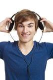 Listen music Stock Images