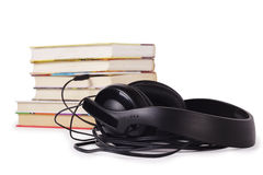 Listen to books Royalty Free Stock Photo