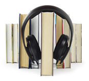 Listen to books Stock Image