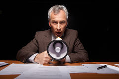 Listen to me! Royalty Free Stock Images