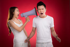 Listen to me! Stock Photography