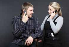 Listen to me, my darling! Stock Photo