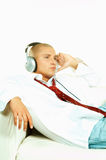 Listen to music royalty free stock photos