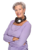 Listen to the music Royalty Free Stock Photo