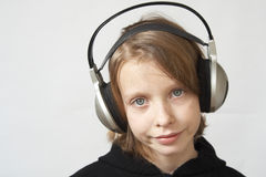 Listen to music Royalty Free Stock Photos